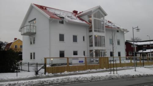 nybyggnad-brf-BoBast-Savedalen-i-sno